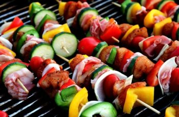 how to get charcoal flavor on an electric grill